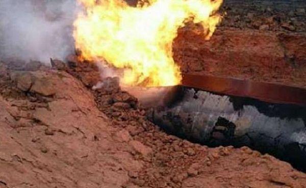 Под Киевом прорвало газопровод, покоторому идет газ вЕС