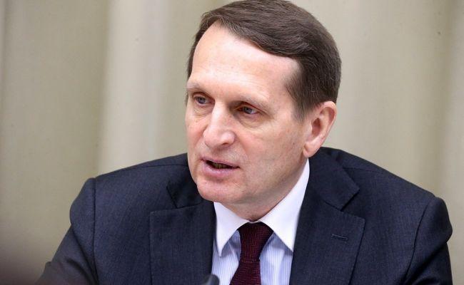 Нарышкин: Главной мишенью «дела Навального» является «Северный поток— 2»
