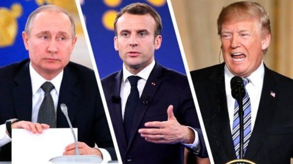 Путин, Трамп иМакрон призвали кнезамедлительному перемирию вКарабахе