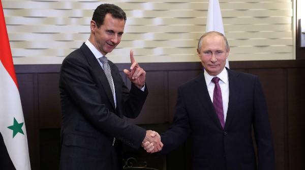 Асад: Россия должна восстановить баланс, мир живёт позакону джунглей