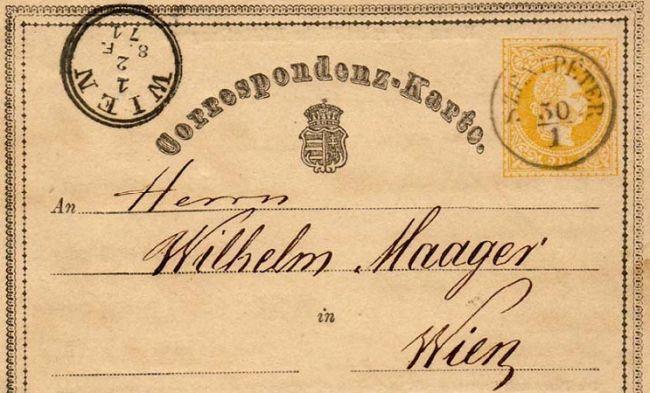 Этот день в истории: 1869 год — выпущена первая почтовая открытка с маркой  — История — EADaily