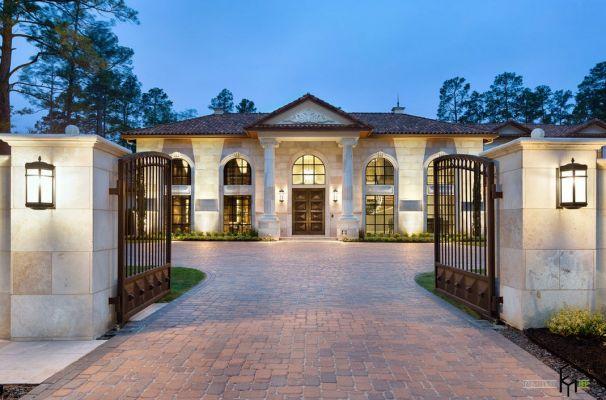 фото роскошные дома