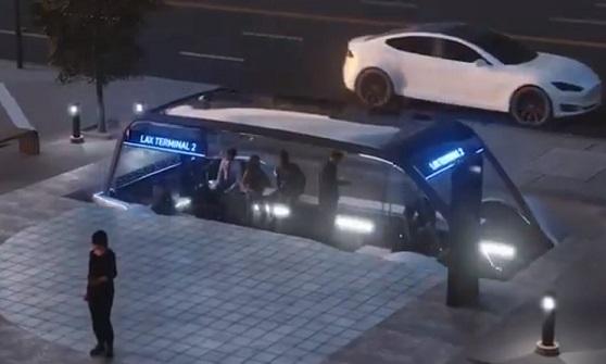 Илон Маск анонсировал проект подземного скоростного автобуса