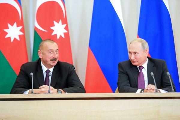 159cdf788ae62c67c2d5beda1be40 Путин иАлиев обсудили налаживание экономических связей вЗакавказье