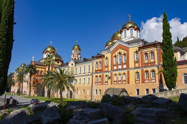 Ново-Афонский монастырь вАбхазии открыт для посещений