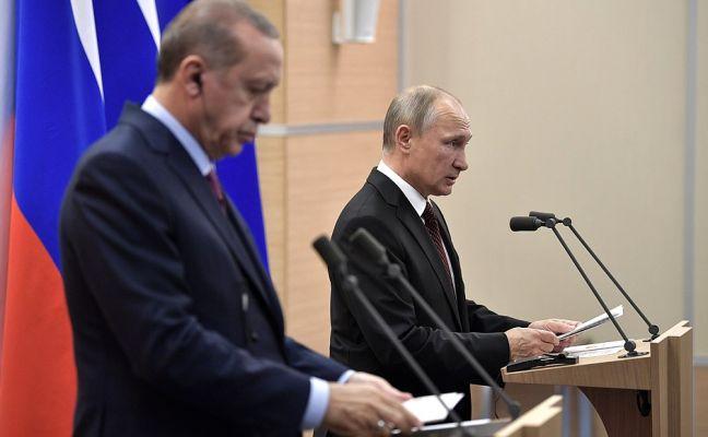 Путин и Эрдоган обсудили ситуацию в палестино-израильском урегулировании