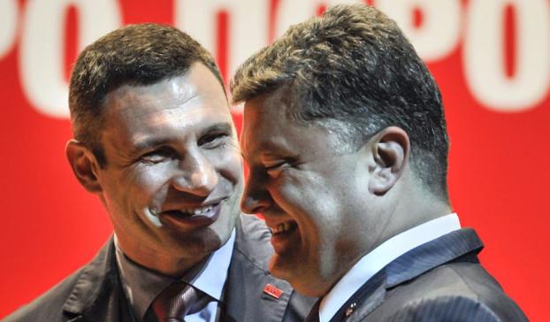Порошенко переплюнул Кличко: «Дать отпор украинскому агрессору»