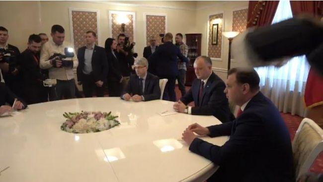 Президенту Молдавии пожаловались на несговорчивость ACUM