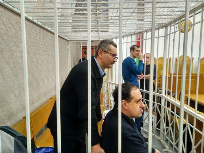 Пророссийских публицистов судят в Минске: 11.01.2018 день 16