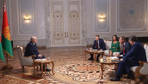 Интервью Александра Лукашенко