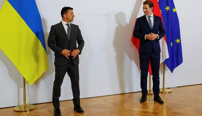 Зеленский приехал в Вену за миллионом евро — австрийские СМИ