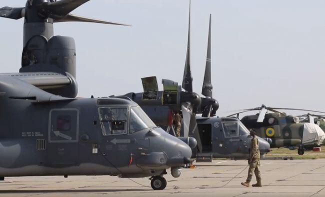 На украинские аэродромы начали прибывать подразделения ВВС США